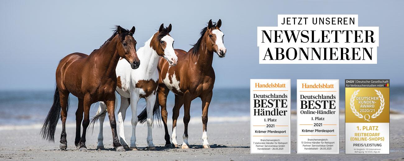 Krämer Pferdesport Newsletter Anmeldung