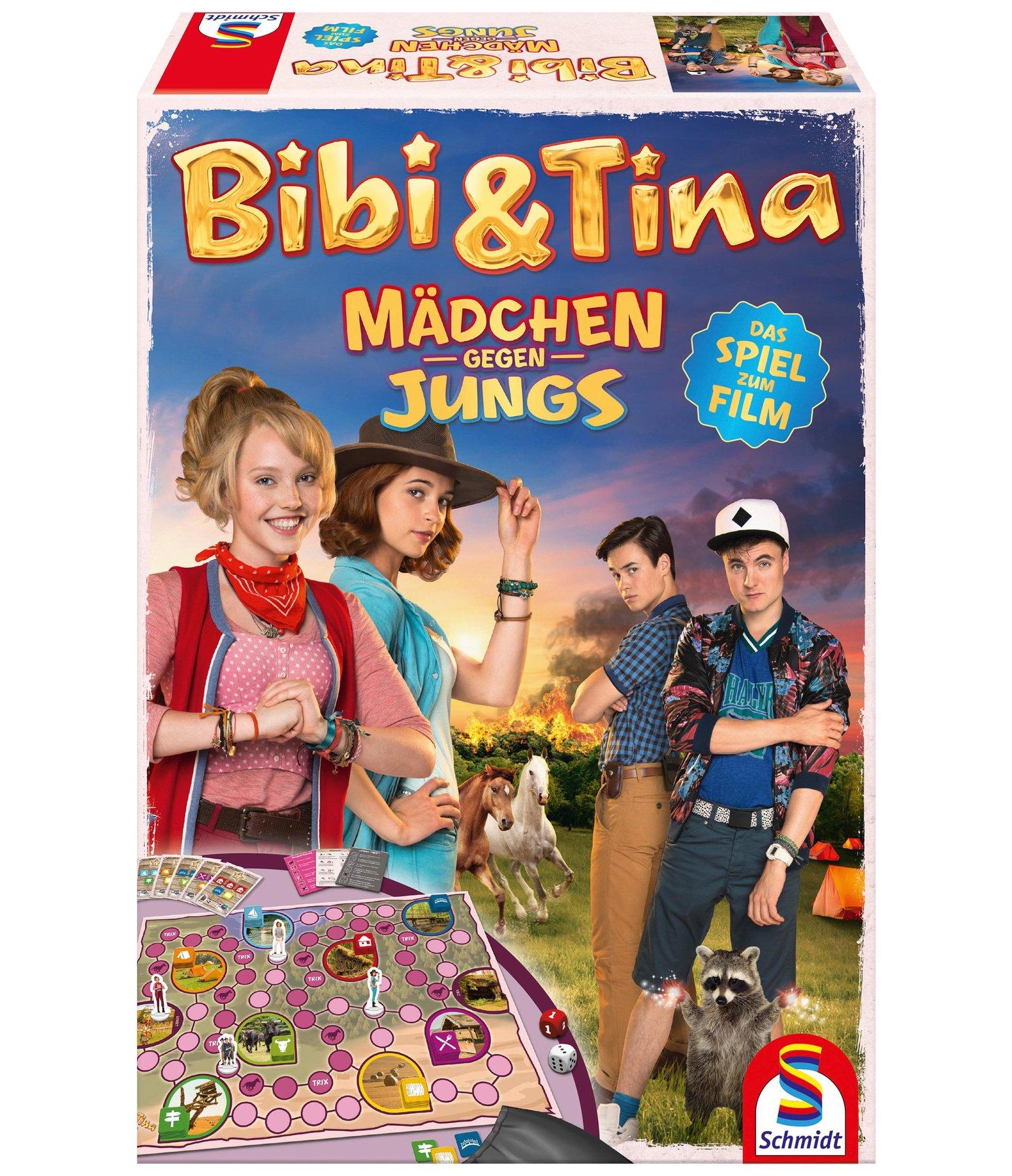 bibi  tina spiel mädchen gegen jungs  spielsachen