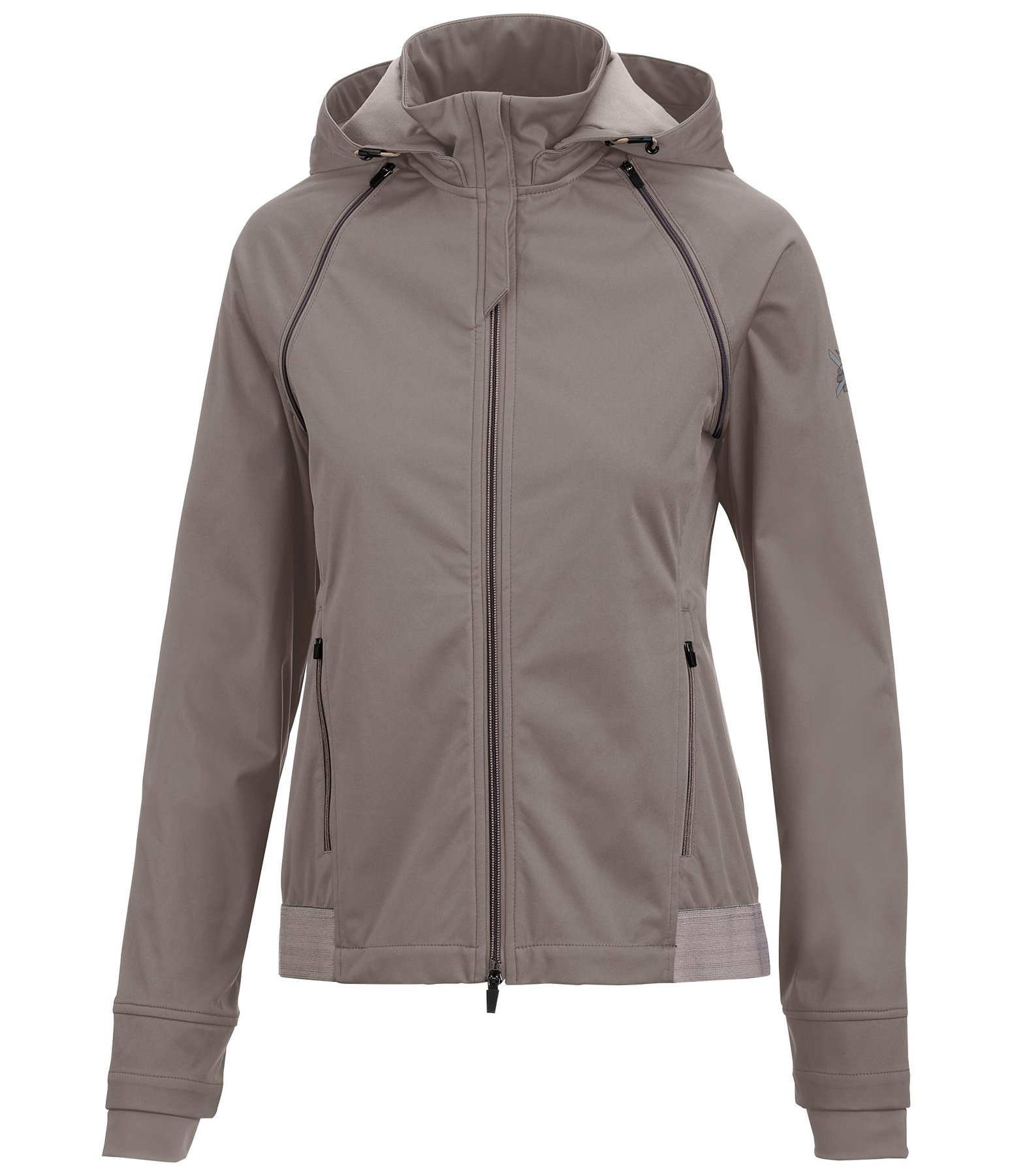 2 in 1 Kapuzen-Softshelljacke Mila