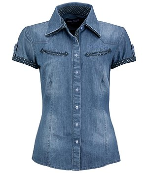 STONEDEEK Damenbluse Denim - 182735-XS-NB