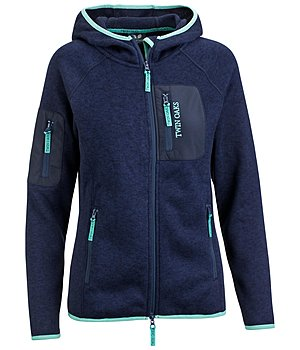 TWIN OAKS Strickfleecejacke Maya - 182897-S-NV