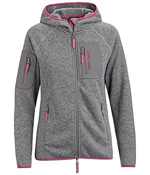 TWIN OAKS Strickfleecejacke Maya - 182897-XL-TT