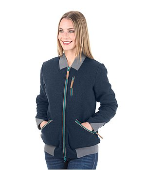 STONEDEEK Ladies-Strickfleeceblouson Holly - 182924