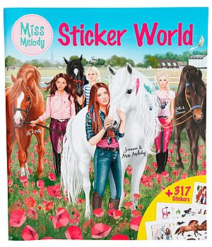 Miss Melody - Sticker World - 402350