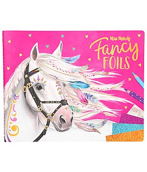 Miss Melody - Mal- und Stickerbuch Fancy Foils - 402498