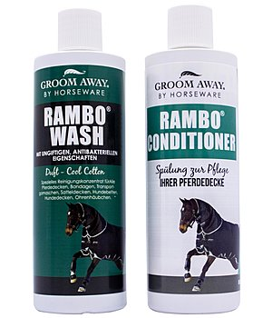HORSEWARE Duo Package Rug Wash und Conditioner Deckenpflege 250 ml - 431833-250