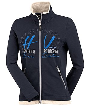 HV POLO Sweatjacke Cherry - 652161-S-NV