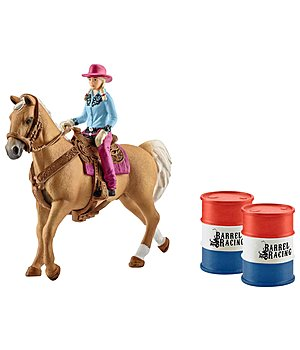 Schleich Barrel Racing mit Cowgirl - 660867