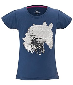 STEEDS Kinder Pailletten T-Shirt Ruby - 680333-152-DE