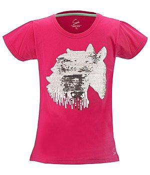 kinder pailletten t shirt ruby kinder shirts kr mer pferdesport. Black Bedroom Furniture Sets. Home Design Ideas
