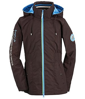 STEEDS Kinder-Kapuzen-Reitjacke Tony - 680340-128-CO