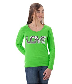 STEEDS Kinder-Langarmshirt Love - 680355
