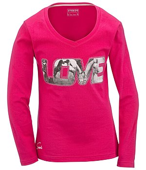 STEEDS Kinder-Langarmshirt Love - 680355-128-FU