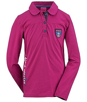 STEEDS Kinder-Langarm-Poloshirt Claire - 680359-152-PP