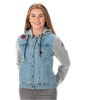 STEEDS Kinder-Jeans-Sweatjacke Katniss - 680575-152-DE