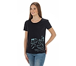 STONEDEEK Ladies T-Shirt Sliding Cowgirl - 182577-M-S - 3