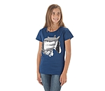 STEEDS Kinder Pailletten T-Shirt Ruby - 680333-152-DE - 2