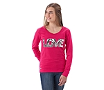 STEEDS Kinder-Langarmshirt Love - 680355-128-FU - 2