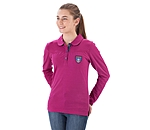 STEEDS Kinder-Langarm-Poloshirt Claire - 680359-176-PP - 2