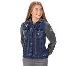 STEEDS Kinder-Jeans-Sweatjacke Katniss - 680575-116-DD