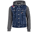STEEDS Kinder-Jeans-Sweatjacke Katniss - 680575-116-DD - 2