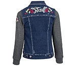 STEEDS Kinder-Jeans-Sweatjacke Katniss - 680575-116-DD - 4