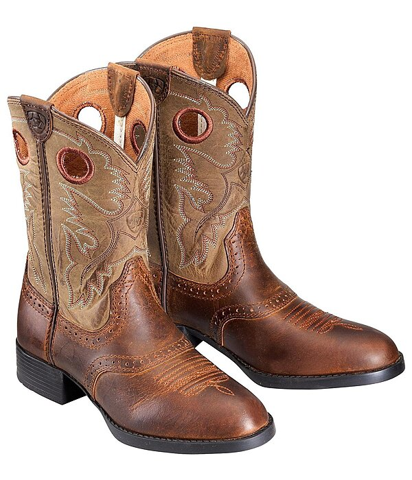 ARIAT Kid's Heritage Stockman Dusty Dun - 182297-11,5