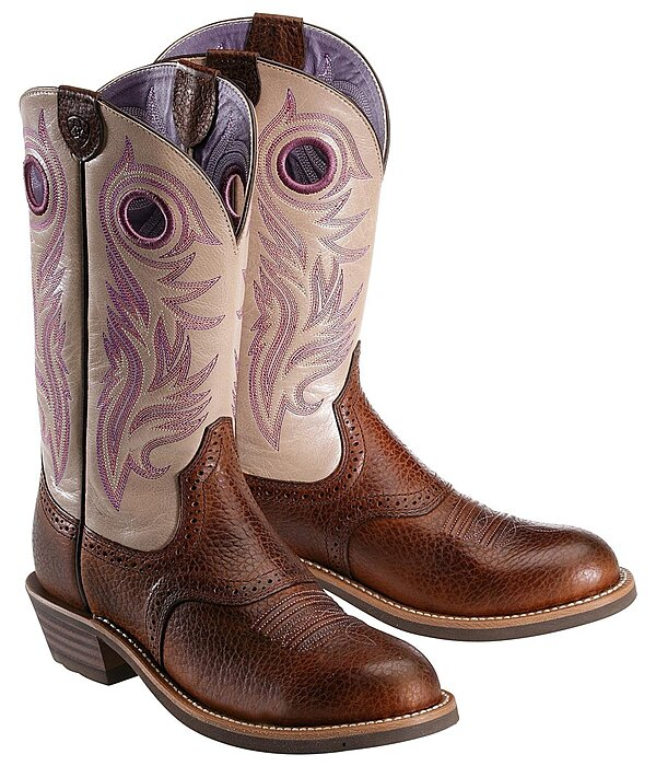 ARIAT Women's Shadow Rider Brown Oiled Rowdy - 182308-4