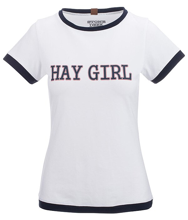 STONEDEEK Ladies T-Shirt Hay Girl - 183036-M-W