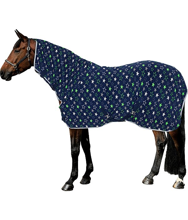 SHOWMASTER Fleece-Abschwitzdecke Fullneck Little Stars - 422019-95-NB