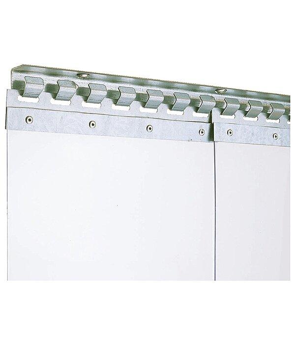 Innenr/äume warm halten Sch/ädlinge sch/ützen f/ür viele Orte VEVOR Streifenvorhang PVC 1 x 2,25 m T/ürvorhang-Kit mit 6 transparenten Streifen und hoher Temperaturbest/ändigkeit kann Ger/äusche reduzieren