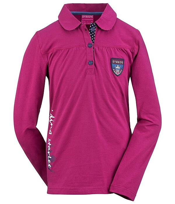 STEEDS Kinder-Langarm-Poloshirt Claire - 680359-176-PP