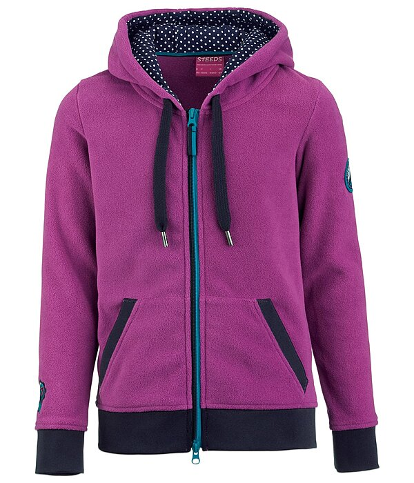 STEEDS Kinder-Fleecejacke Fiona - 680438-152-V