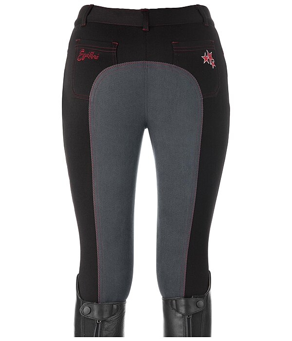 Equilibre Kinder-Vollbesatzreithose Performance Stretch Toni - 810461-164-S