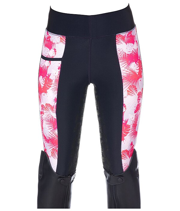 Felix Bühler Kinder-Grip-Vollbesatz-Leggings Philina - 810566-128-DL