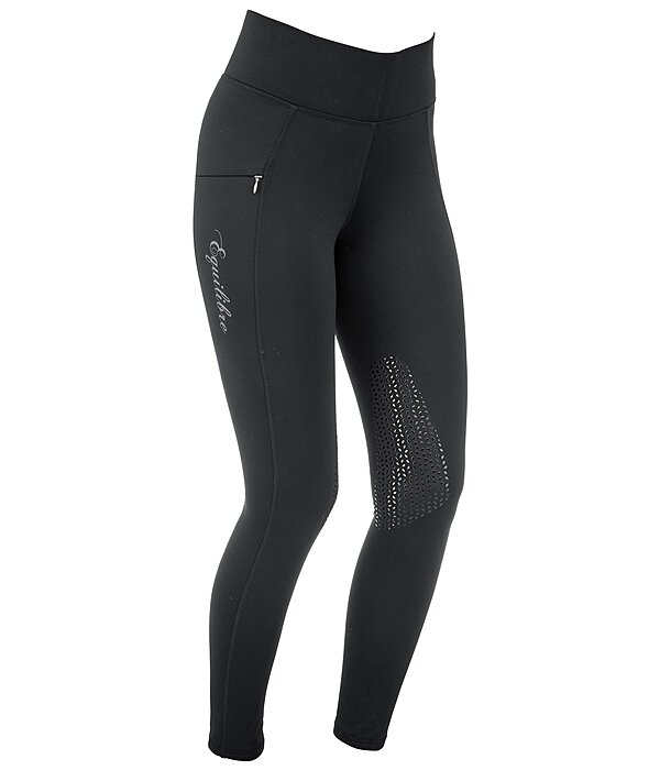 Equilibre Grip-Thermo-Kniebesatz-Reitleggings Valerie - 810579-38-S